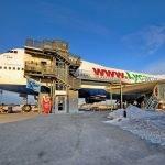 Boinq- 747, Stokholmda Təyyarə-Otel