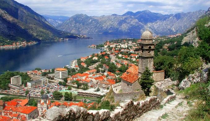 kotor bay montenegro adriatic sea