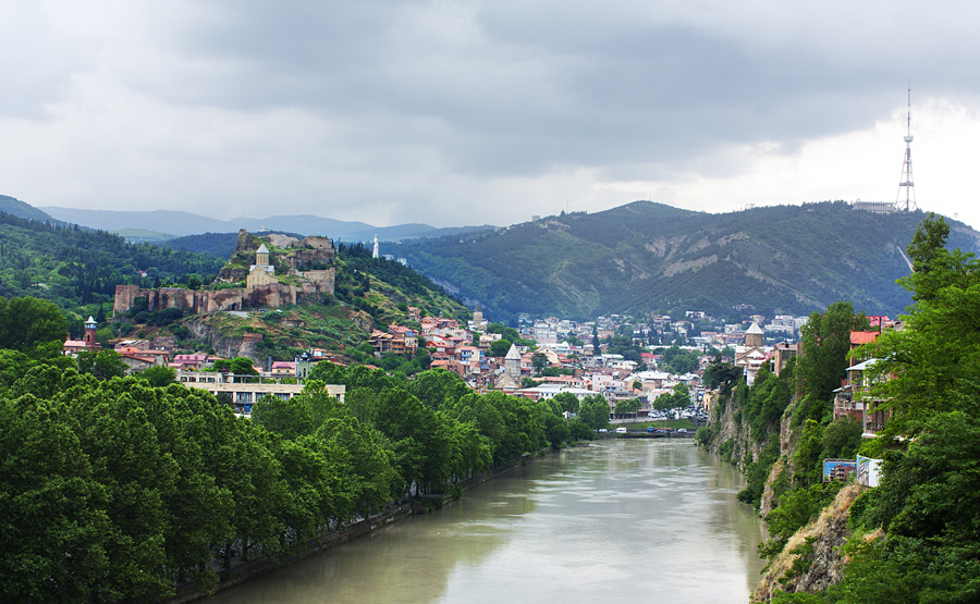 Tbilisi Georgia — View of Tbilisi