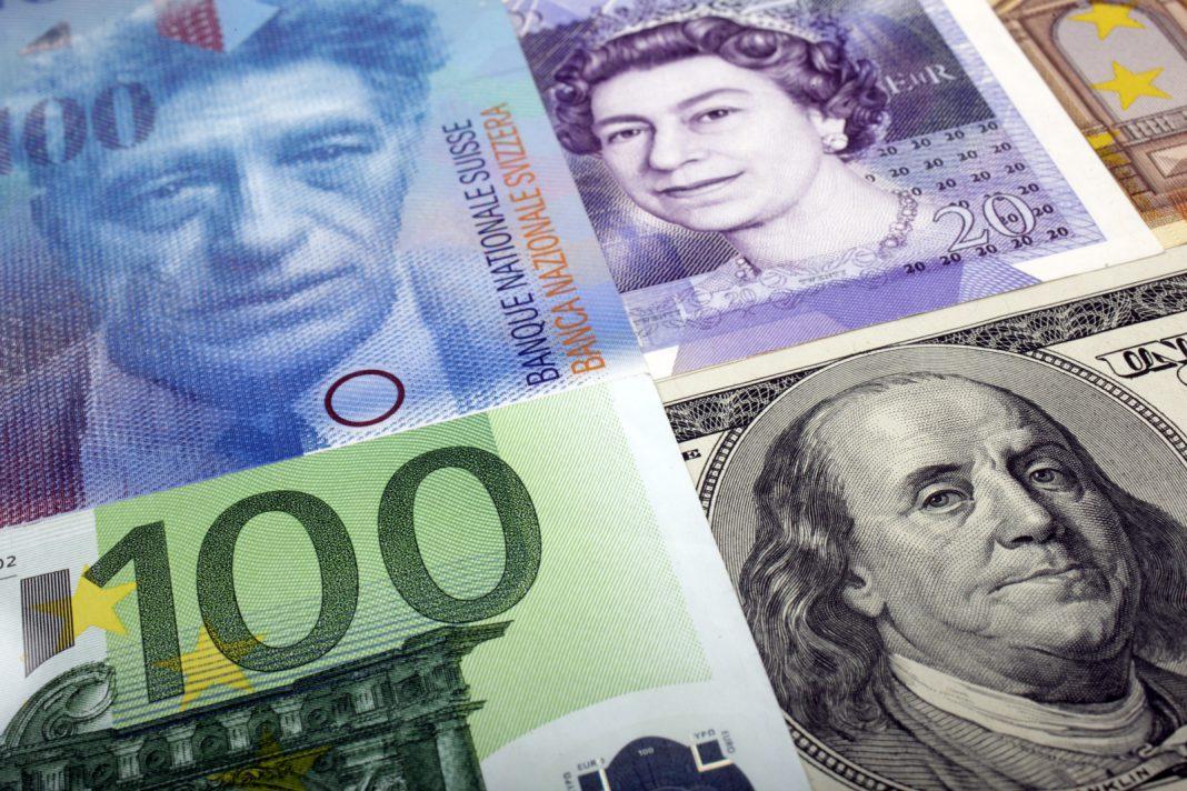 euro pound dollar