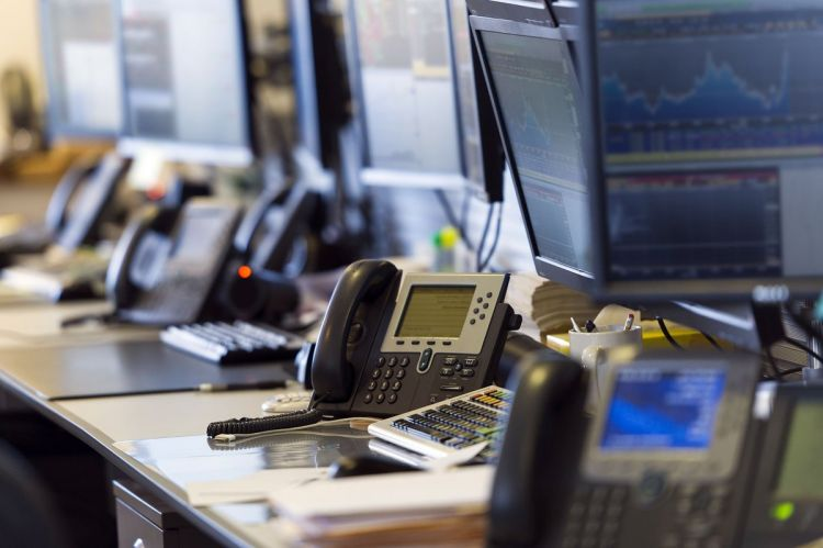 office bank call telefon phone
