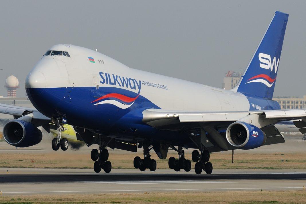 Boeing 747 4R7FSCD Silk Way West Airlines JP7696736