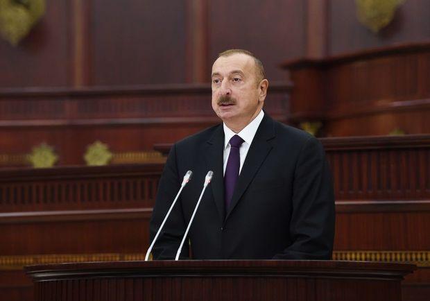ilham aliyev milli mecliss