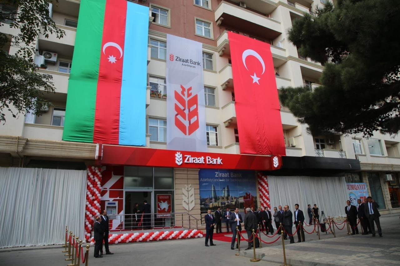 Ziraat Bank Azərbaycan Asc Nin 4 Cu Filialini Turkiyənin Xarici Islər Naziri Mevlut Cavusoglu Sumqayitda Acdi