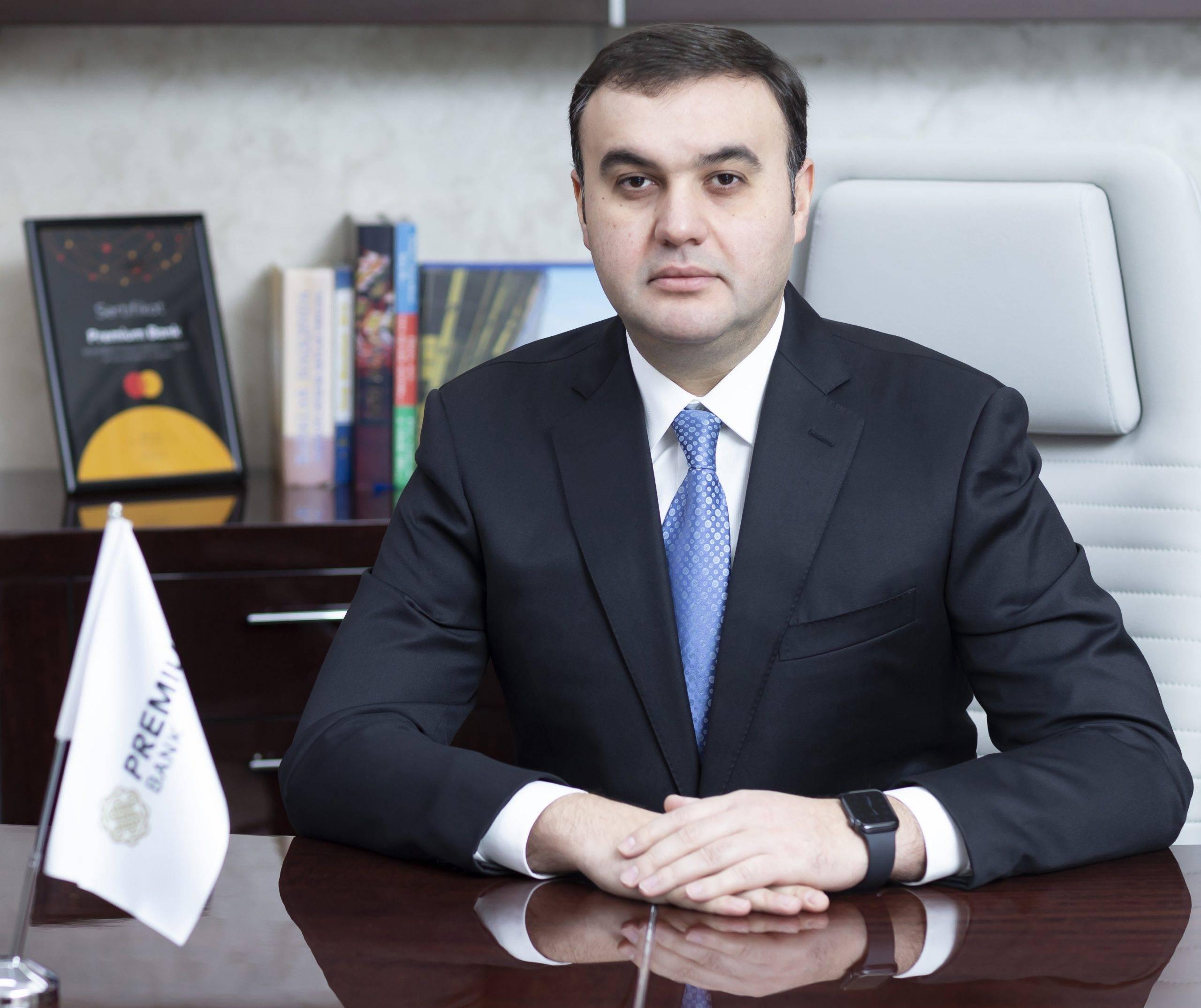 Elçin Əhmədov - Premium Bankın Müşahidə Şurasının sədri