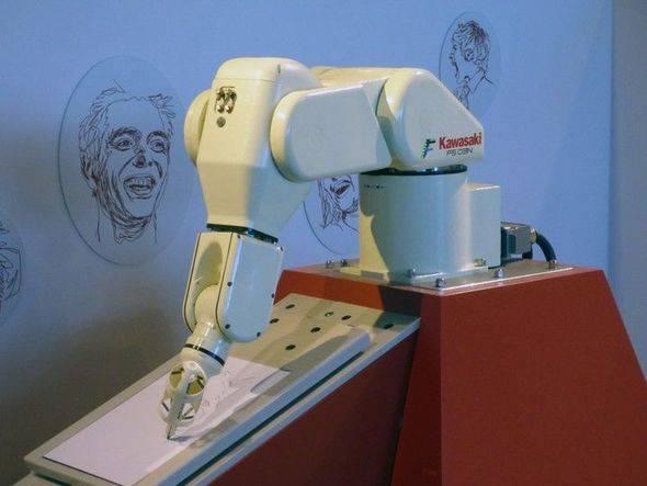 Ağrı hiss edən robot yaradıldı FOTO