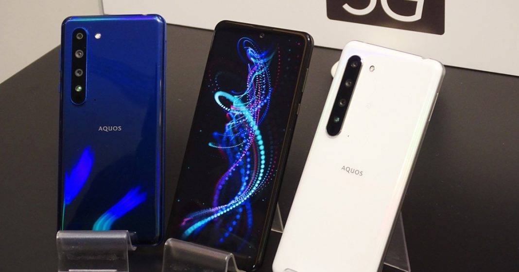 Sharp 5G smartfon
