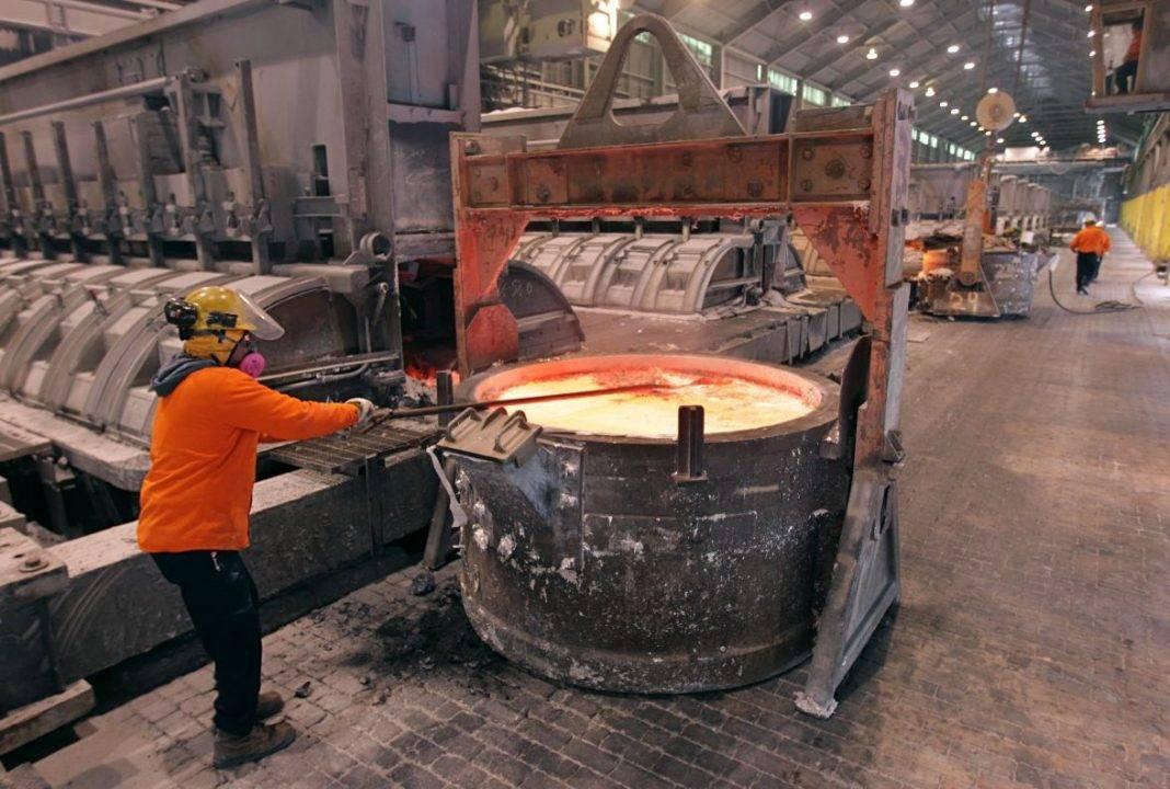 aluminium metal mining
