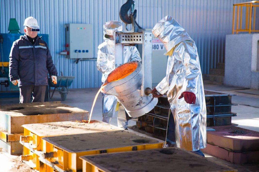 metal zavod factory industry