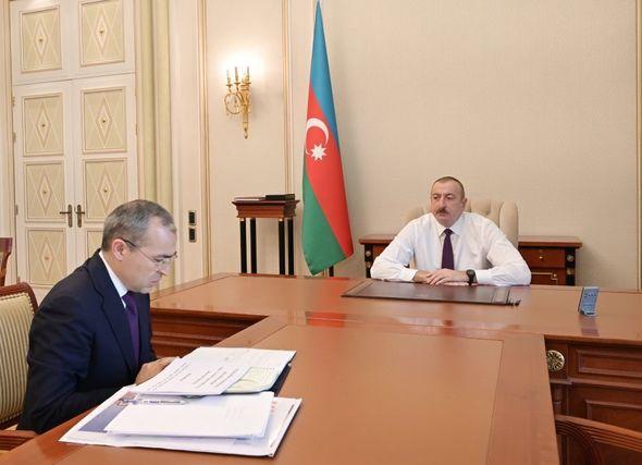 .Əliyev və M.Cabbarov