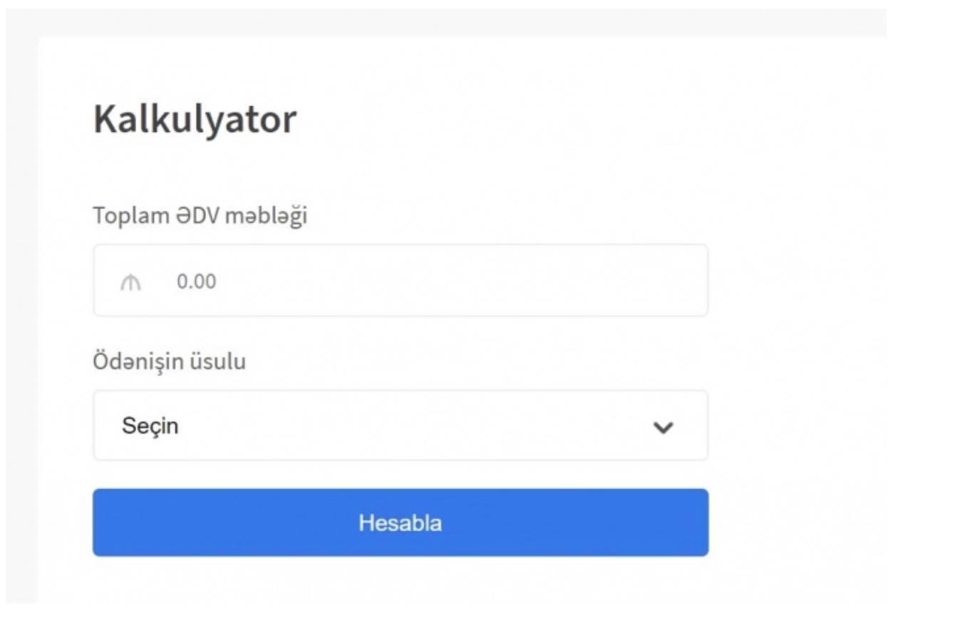 ƏDV-nin geri qaytarılması üçün portal yaradıldı – Banker.az