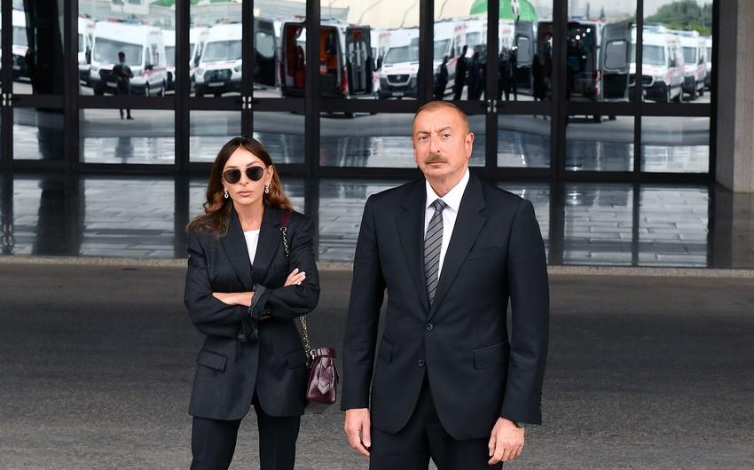 lham Əliyev və Mehriban Əliyeva 1