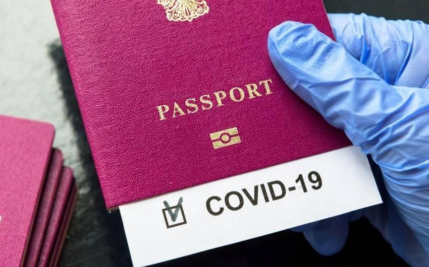 koronavirus passportu