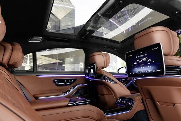 2021 Mercedes Benz S Class 20