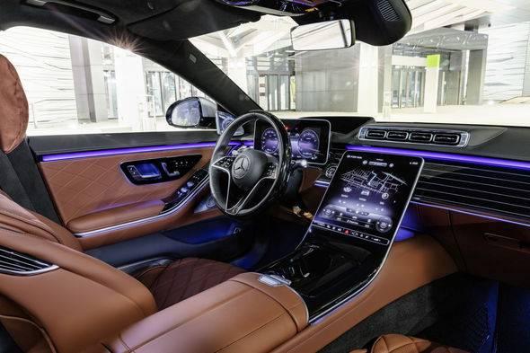 2021 Mercedes Benz S Class 22