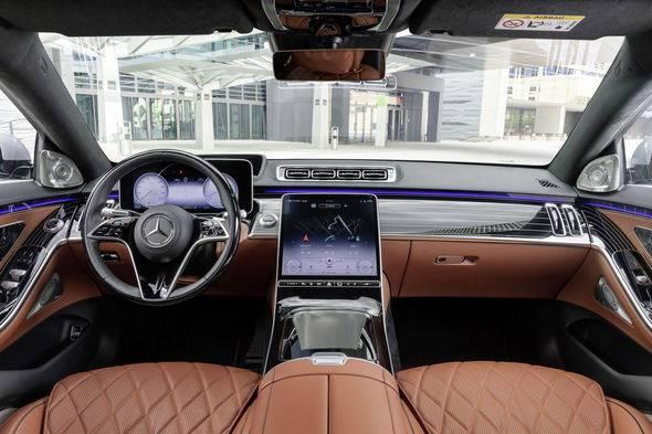2021 New Mercedes Benz S Class 22