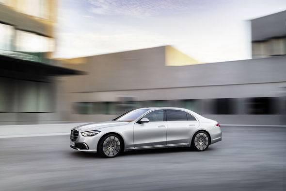 2021 New Mercedes Benz S Class 6