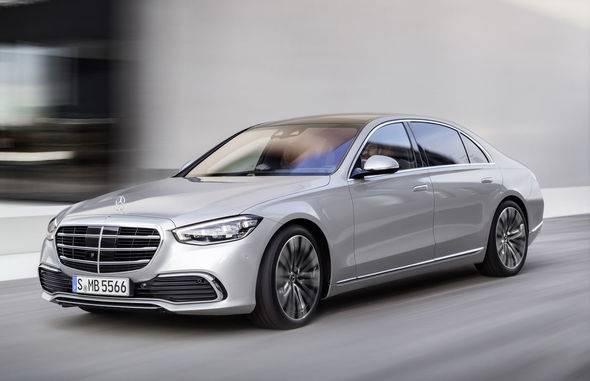 2021 New Mercedes Benz S Class 7