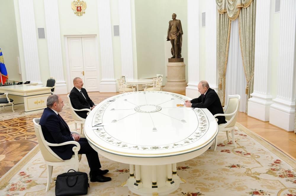 aliyev pashinyan putin