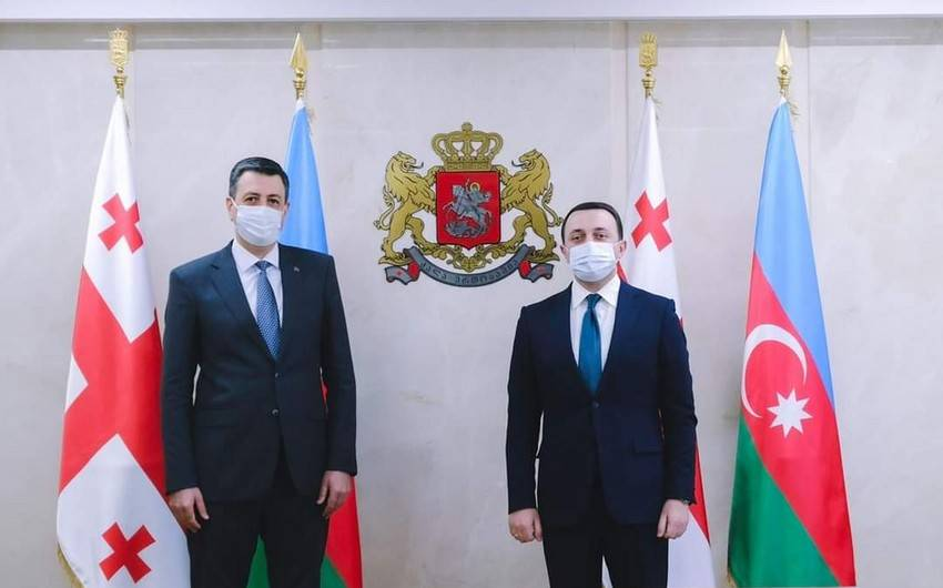 Faiq Quliyev və İrakli Qaribaşvili