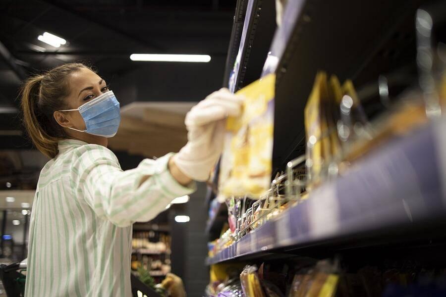 mask supermarket