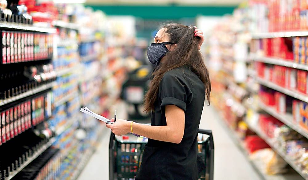 A4masked supermarket erzaq