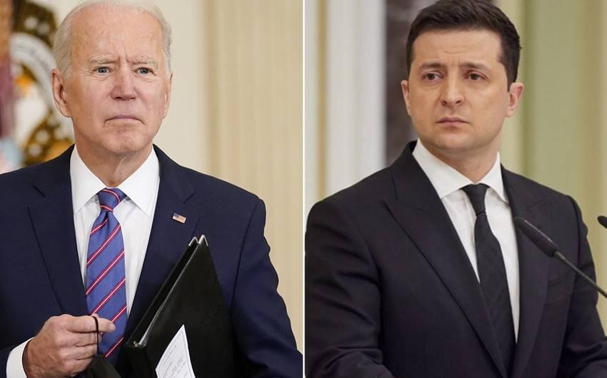 Co Baydenin və Vladimir Zelenski