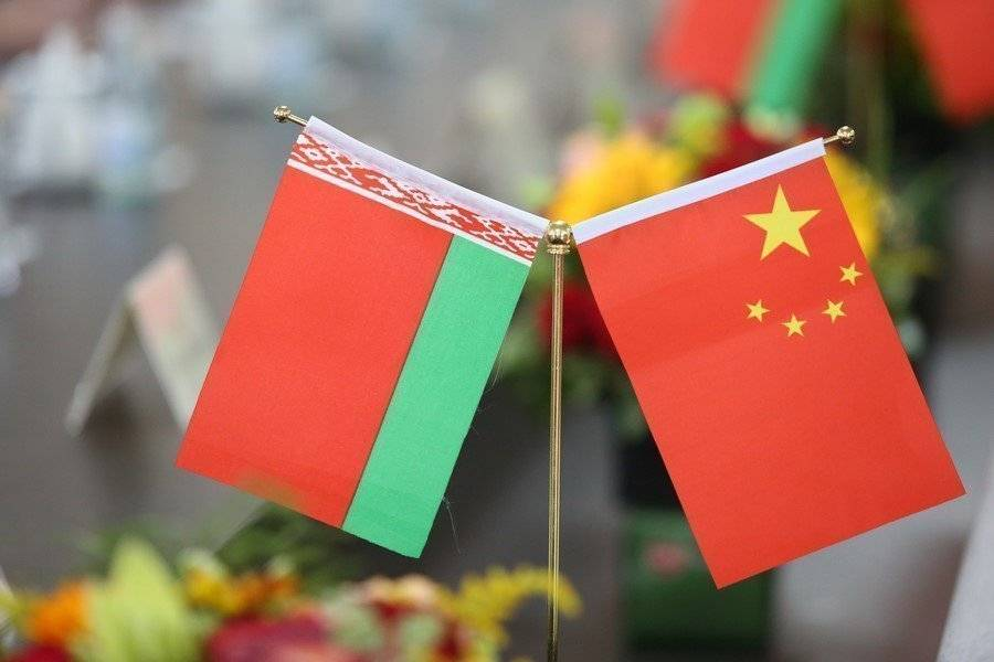 Flags China Belarus