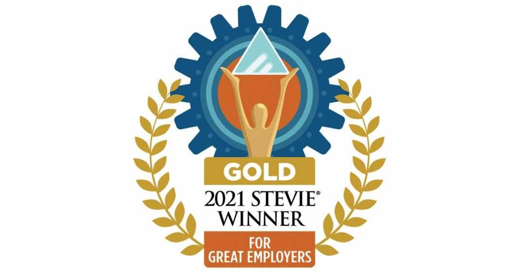 Gold Winner Stevie Award