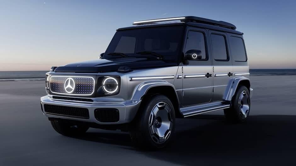 Mercedes Benz elektrikli G Class 2